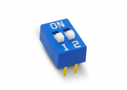 DIP SWITCH 2 LLAVES ALTO