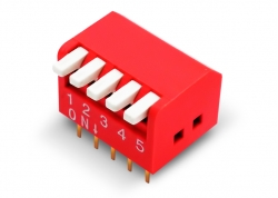 DIP SWITCH 5 LLAVES PIANO