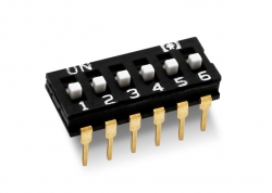 DIP SWITCH 6 LLAVES