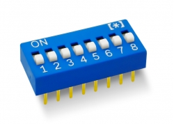 DIP SWITCH 8 LLAVES ALTO