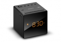 RADIO RELOJ DESPERTADOR DIGITAL PORTÁTIL AM-FM SONY