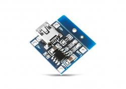 CARGADOR DE BATERÍAS DE LÍTIO TP4056 (USB MINI)