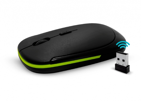MOUSE ÓPTICO INALÁMBRICO ULTRA SLIM