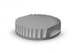 DISIPADOR PARA LED DE POTENCIA (100 X 17MM)