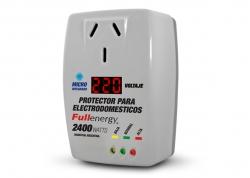PROTECTOR PARA ELECTRODOMÉSTICOS 2400W FULLENERGY (CON VOLTÍMETRO)
