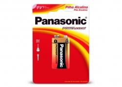 PILA PANASONIC 9V ALCALINA EN BLISTER X1 (PRECIO X UNIDAD)