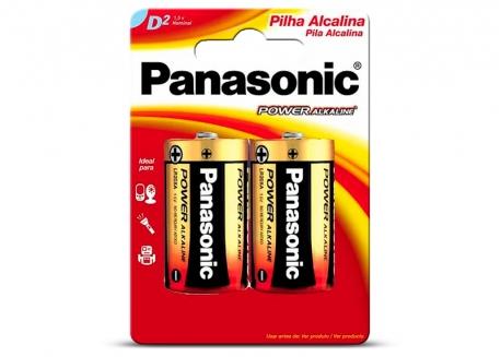 PILA PANASONIC D ALCALINA EN BLISTER X2 (PRECIO X UNIDAD)
