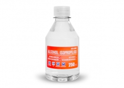 ALCOHOL ISOPROPILICO EN BOTELLA 250ML