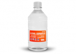ALCOHOL ISOPROPILICO EN BOTELLA 500ML