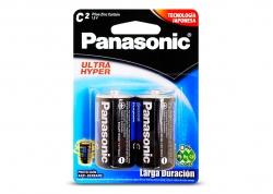PILA PANASONIC C SUPER HYPER EN BLISTER X2 (PRECIO X UNIDAD)